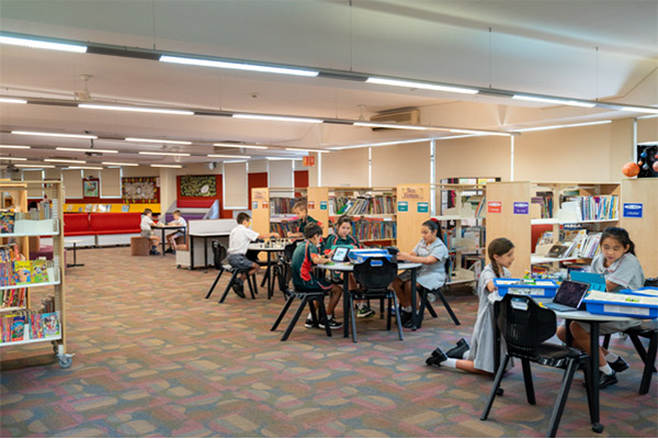 Holy Spirit North Ryde library